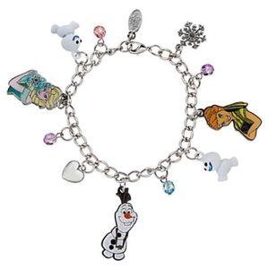 Disney Frozen Charm Bracelet Never Worn ❌